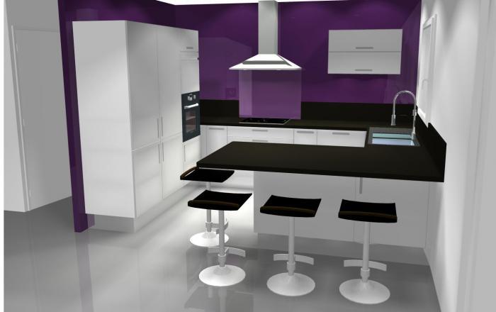 Mode projet for Modelisation cuisine 3d